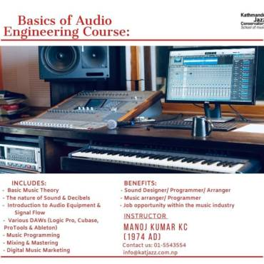 Basics of Audio Engineering Course 2020