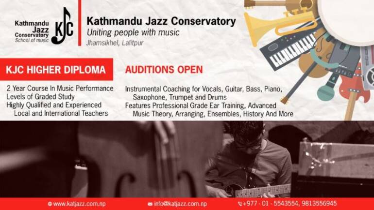 ADMISSION OPEN – KJC Higher Diploma in Jazz Performances